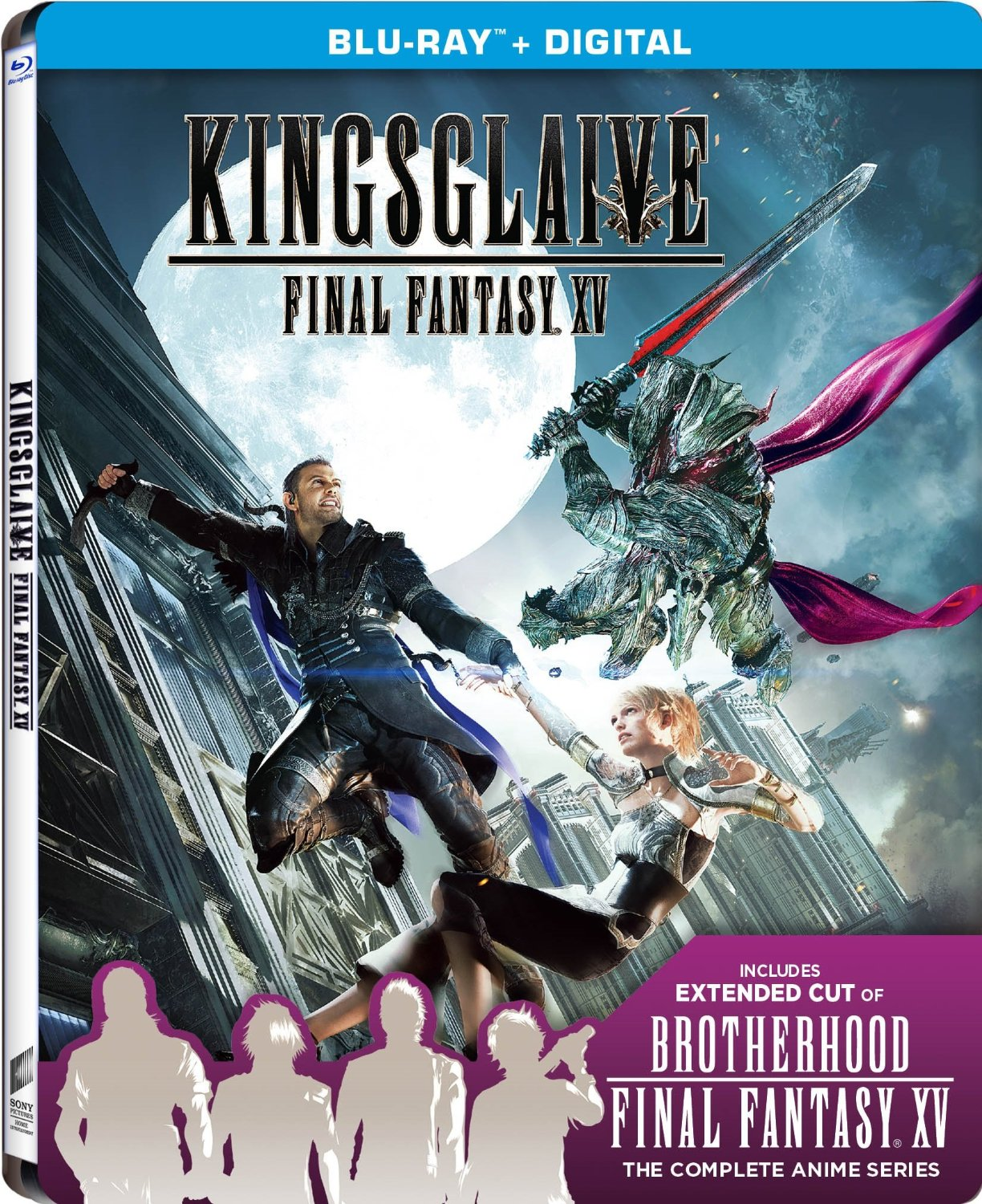 kingsglaive final fantasy xv 2016 trailer