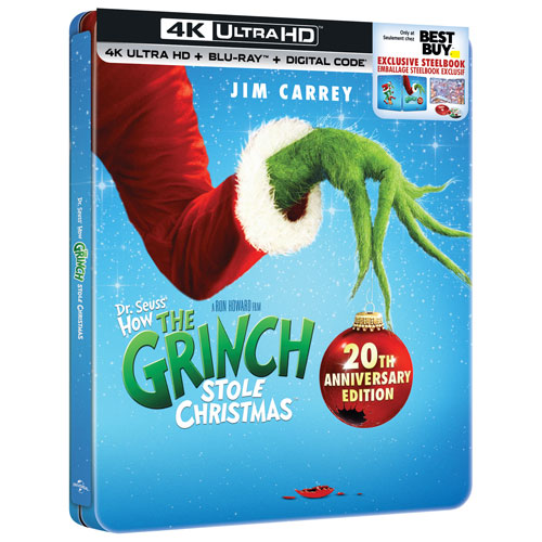 How The Grinch Stole Christmas Dvd Release Date 2020 How the Grinch Stole Christmas   20th Anniversary (4K+2D Blu ray