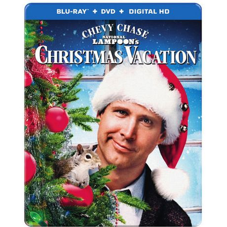 Christmas Vacation 25th Anniversary (Blu-ray SteelBook) [Canada ...