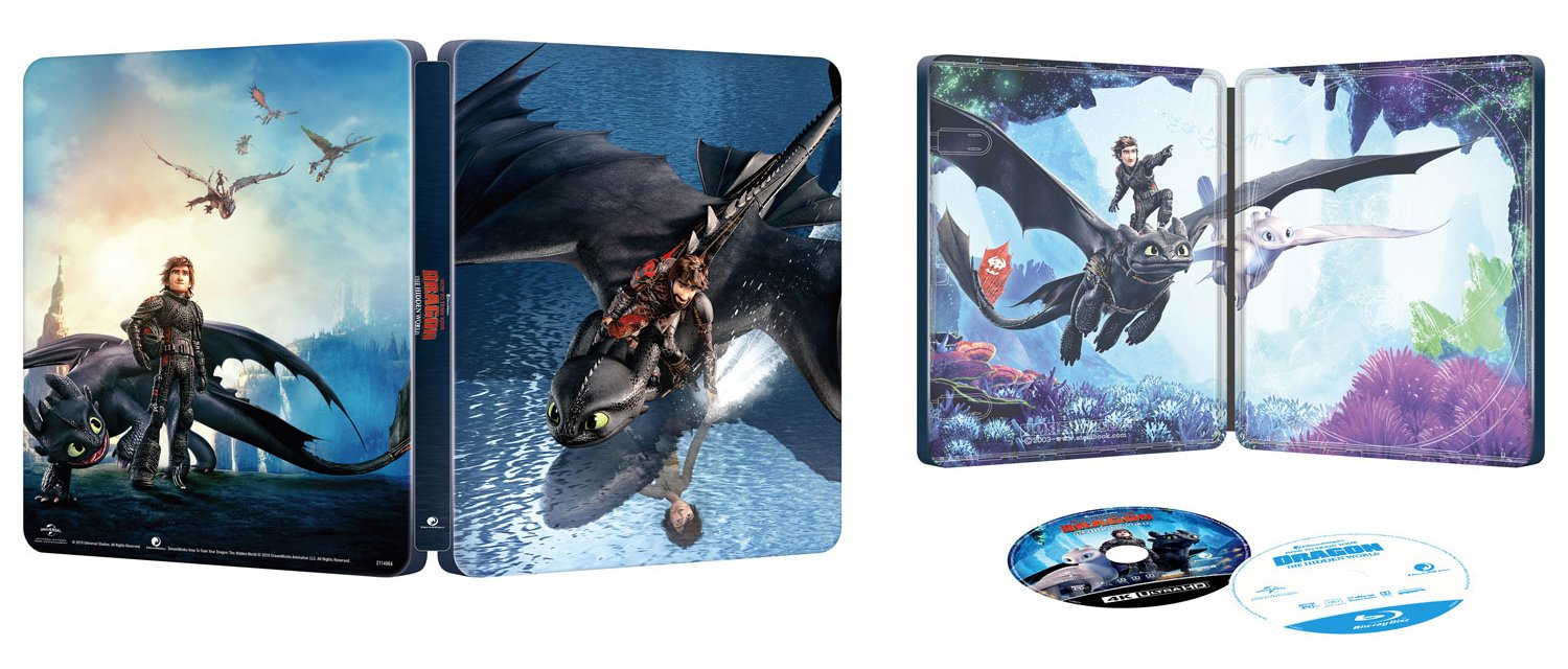 how to train your dragon 2 blu ray canada