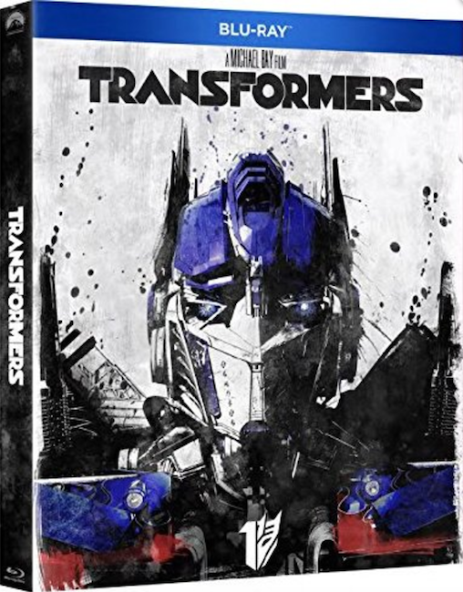 Slipcover - Transformers 1 - 4 (2017 Re-release Blu-ray