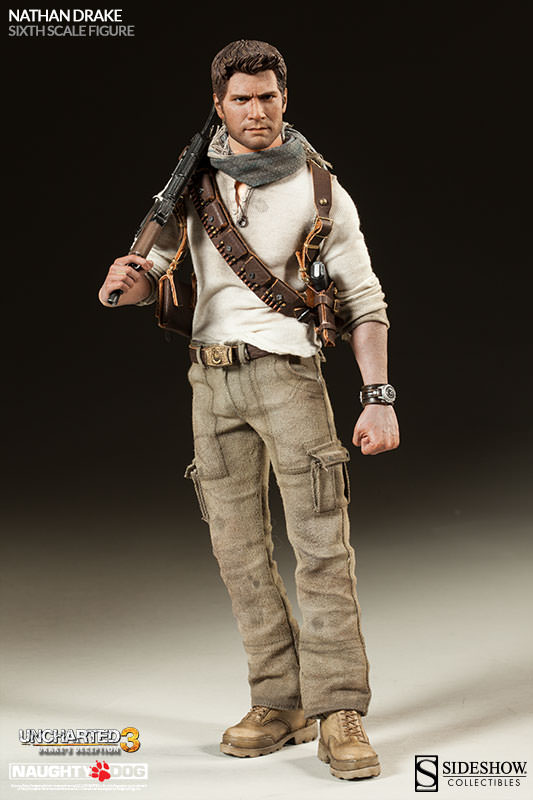 Nathan Drake Uncharted 1 6 Scale Figure Sideshow Collectibles