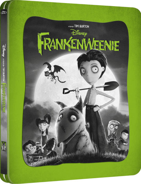 Frankenweenie (2D+3D Blu-ray SteelBook) (Zavvi Exclusive) [UK] | Hi