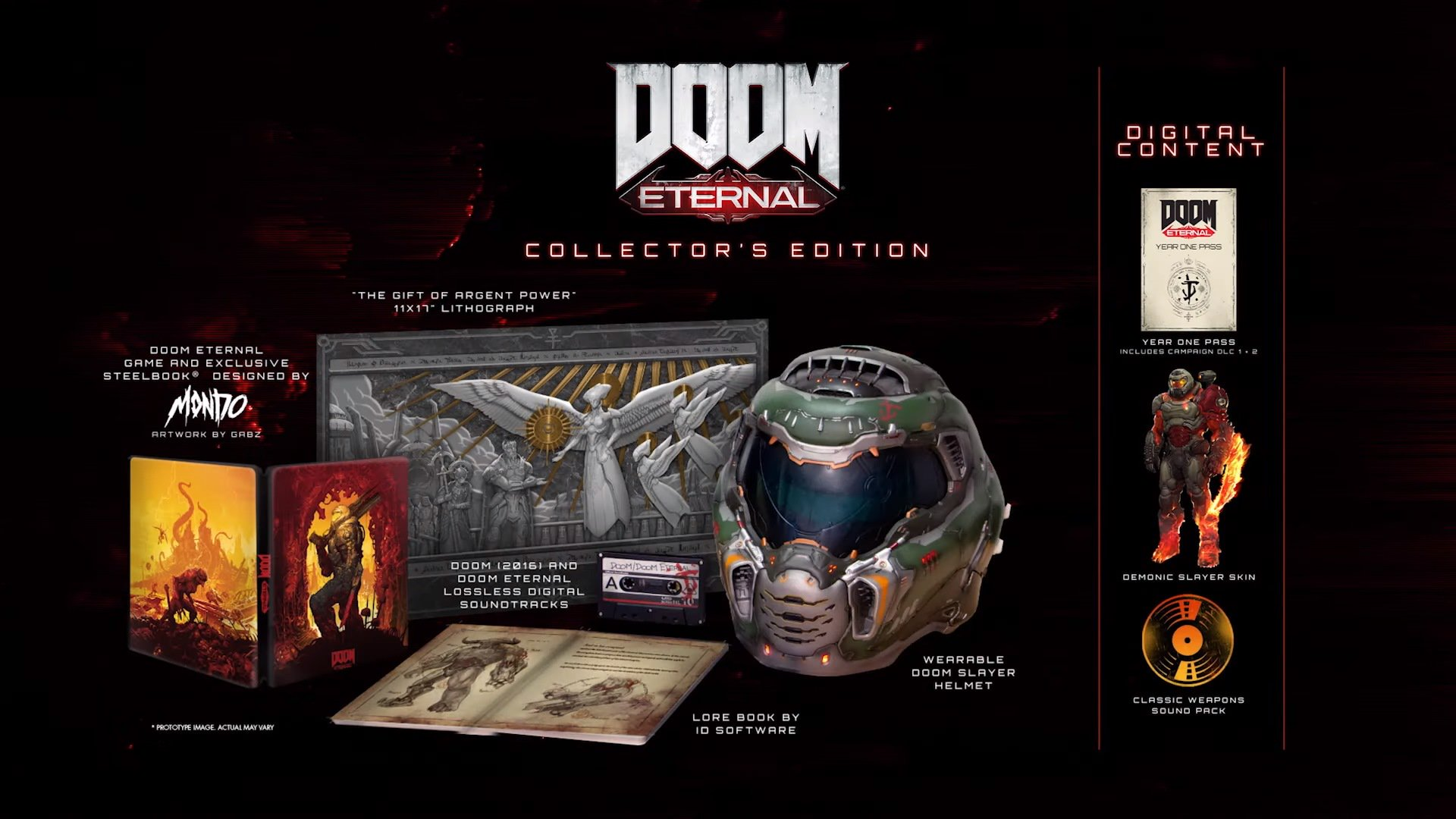 Doom Eternal Collectors Edition Hi Def Ninja Pop Culture