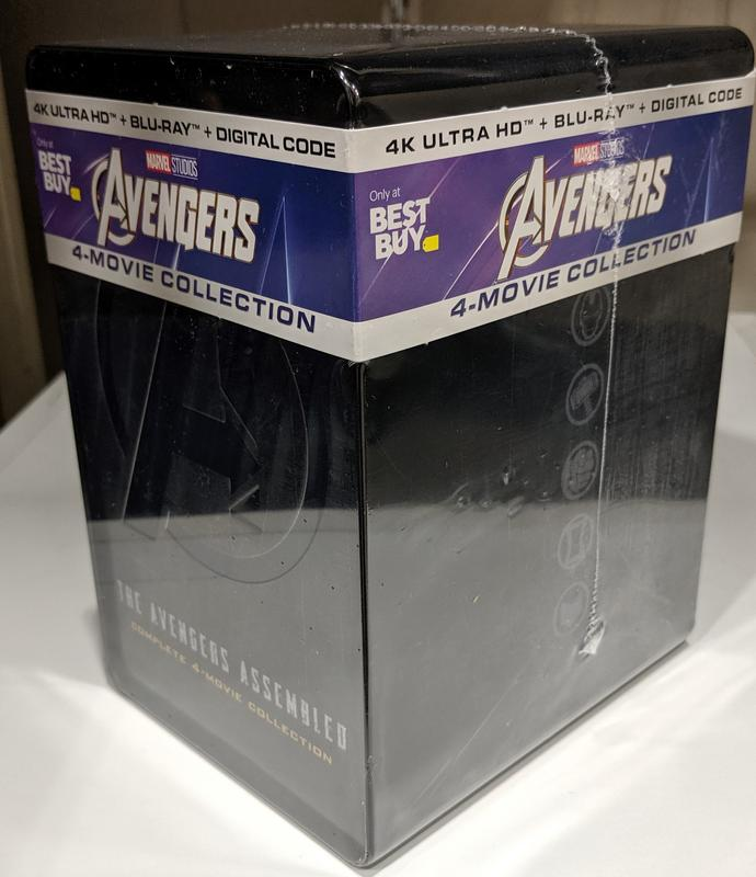 Avengers 4-Movie Collection (4K+2D Blu-ray SteelBook) (Best
