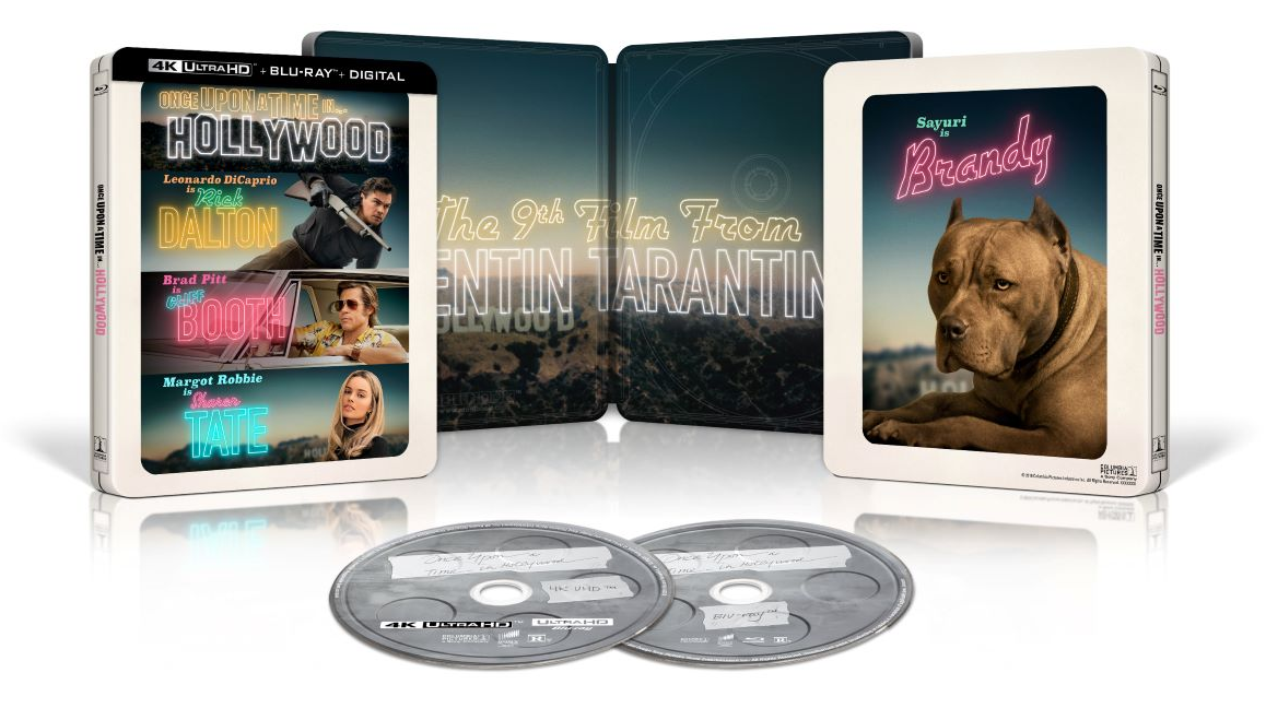 Once Upon a Time In Hollywood (4K+2D Blu-ray SteelBook) (Best Buy  Exclusive) [USA]   Hi-Def Ninja - Pop Culture - Movie Collectible Community