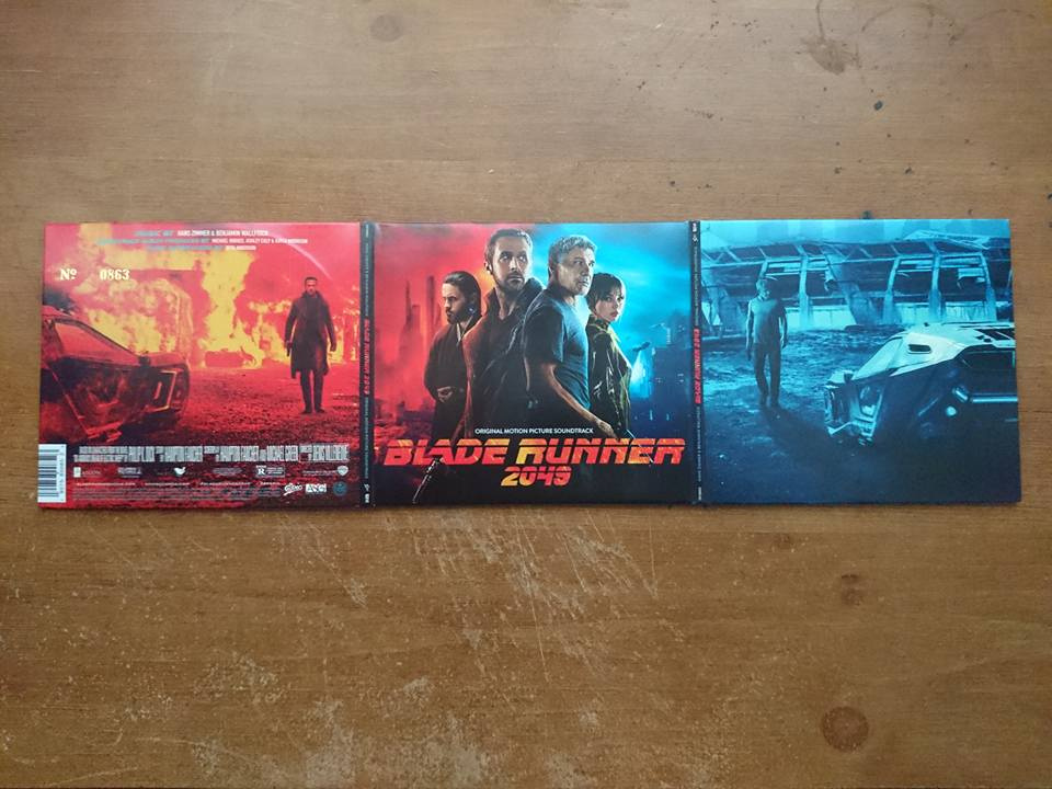 Blade Runner 2049 Ost 2 Cd Set Download Blade Runner 2049 Shop Exclusive Limited Edition Usa Hi Def Ninja Pop Culture Movie Collectible Community
