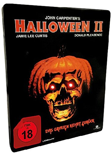 up the led lights in the eyes of the cover subject in garish red light accompanied by the original halloween theme that will sound through the speaker - Halloween Ii Blu Ray
