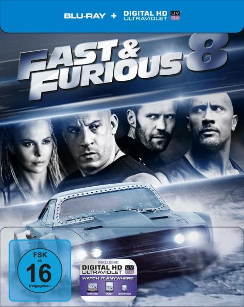 fast and furious 8 blu ray steelbook mueller exclusive. Black Bedroom Furniture Sets. Home Design Ideas
