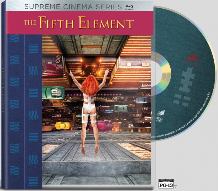 The Fifth Element (4K Restoration & Dolby Atmos Blu-ray) [US