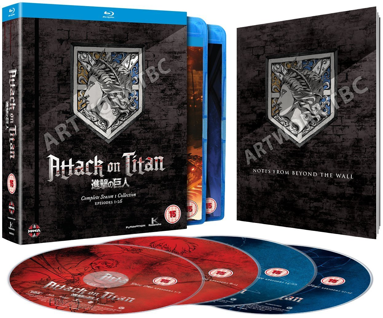 Images Of Attack On Titan Blu Ray Box Set