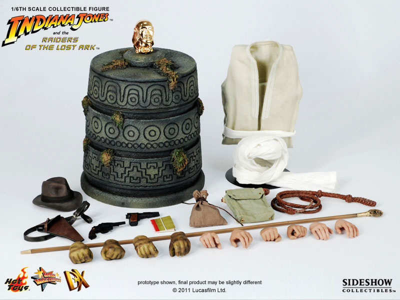 1//6 Scale Whip From Hot Toys DX05 Indiana Jones Raiders Lost Ark Figures