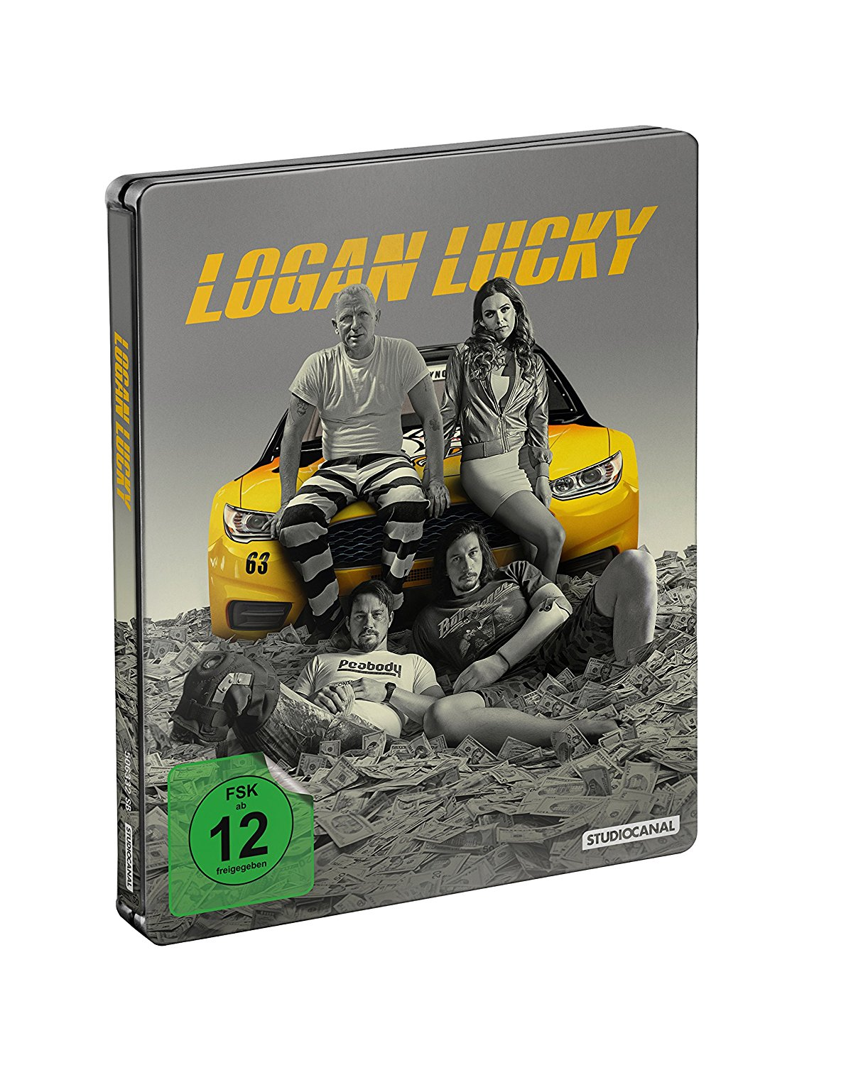 Logan Lucky Blu Ray Steelbook Germany Hi Def Ninja Pop Culture Movie Collectible Community