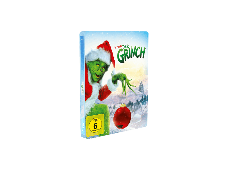 How The Grinch Stole Christmas Blu Ray.How The Grinch Stole Christmas Blu Ray Steelbook Saturn