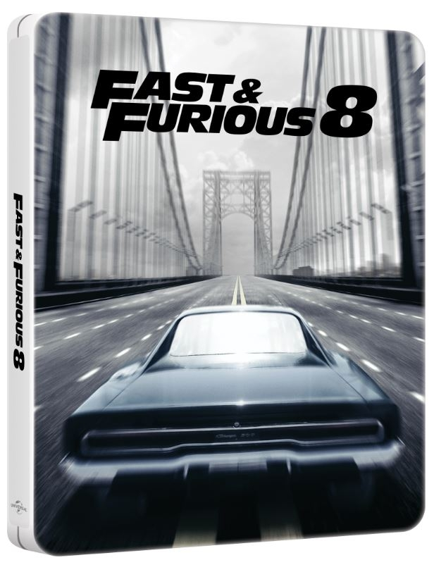 the fate of the furious fast furious 8 blu ray steelbook finland hi def ninja pop. Black Bedroom Furniture Sets. Home Design Ideas