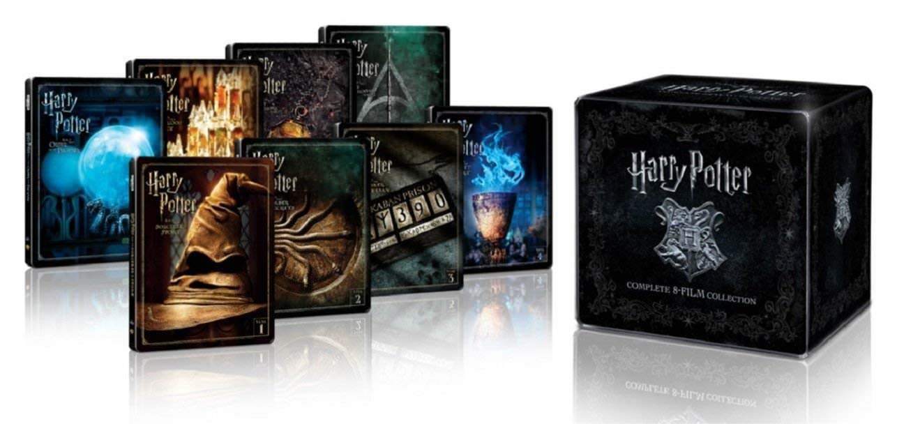 Harry Potter - Complete Collection (Blu-ray SteelBooks