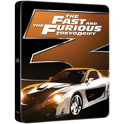 Fast And Furious 3 Full Movie >> The Fast And The Furious Tokyo Drift Blu Ray Steelbook