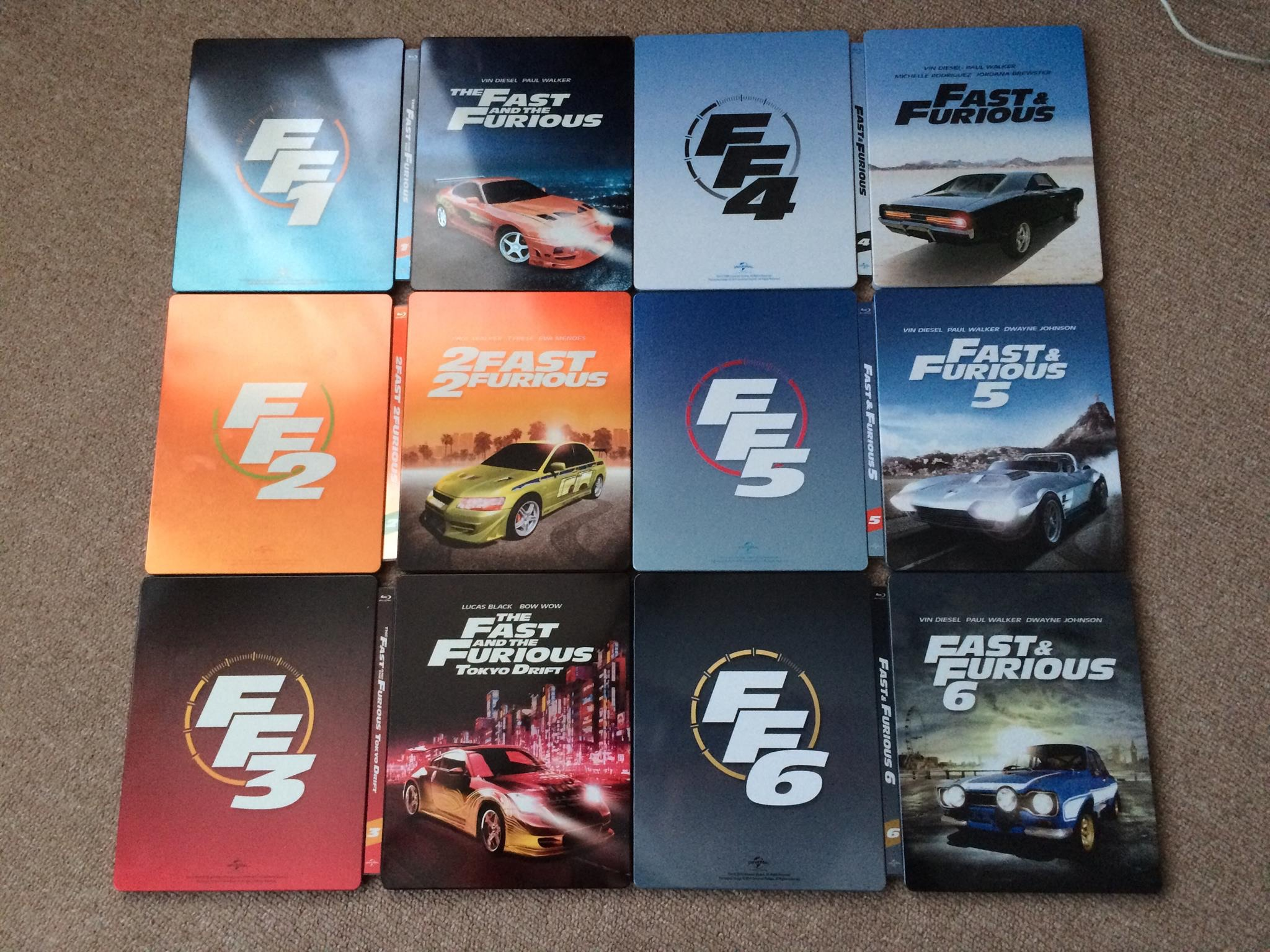 fast furious 8 blu ray steelbook zavvi exclusive uk. Black Bedroom Furniture Sets. Home Design Ideas
