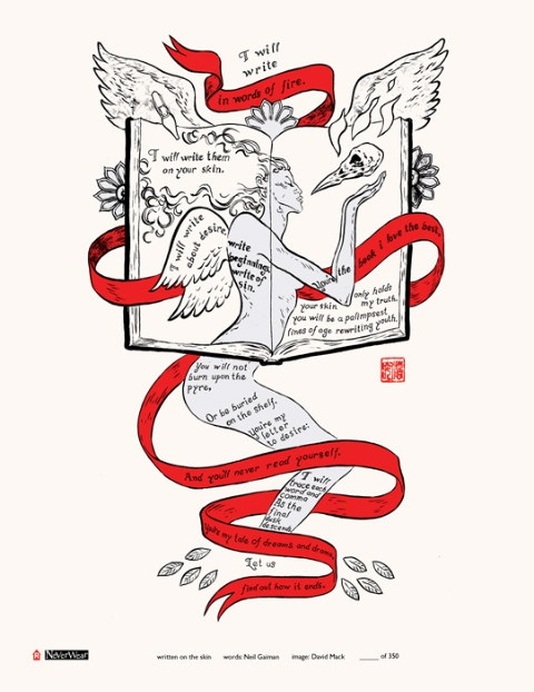 i will write in words of fire print by neil gaiman david mack Word Fire Longitudinal i will write in words of fire print by neil gaiman david mack