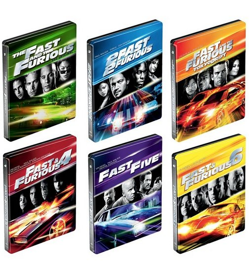Fast The Furious Franchise Blu Ray Steelbooks Best Buy Exclusive Usa Hi Def Ninja Pop Culture Movie Collectible Community