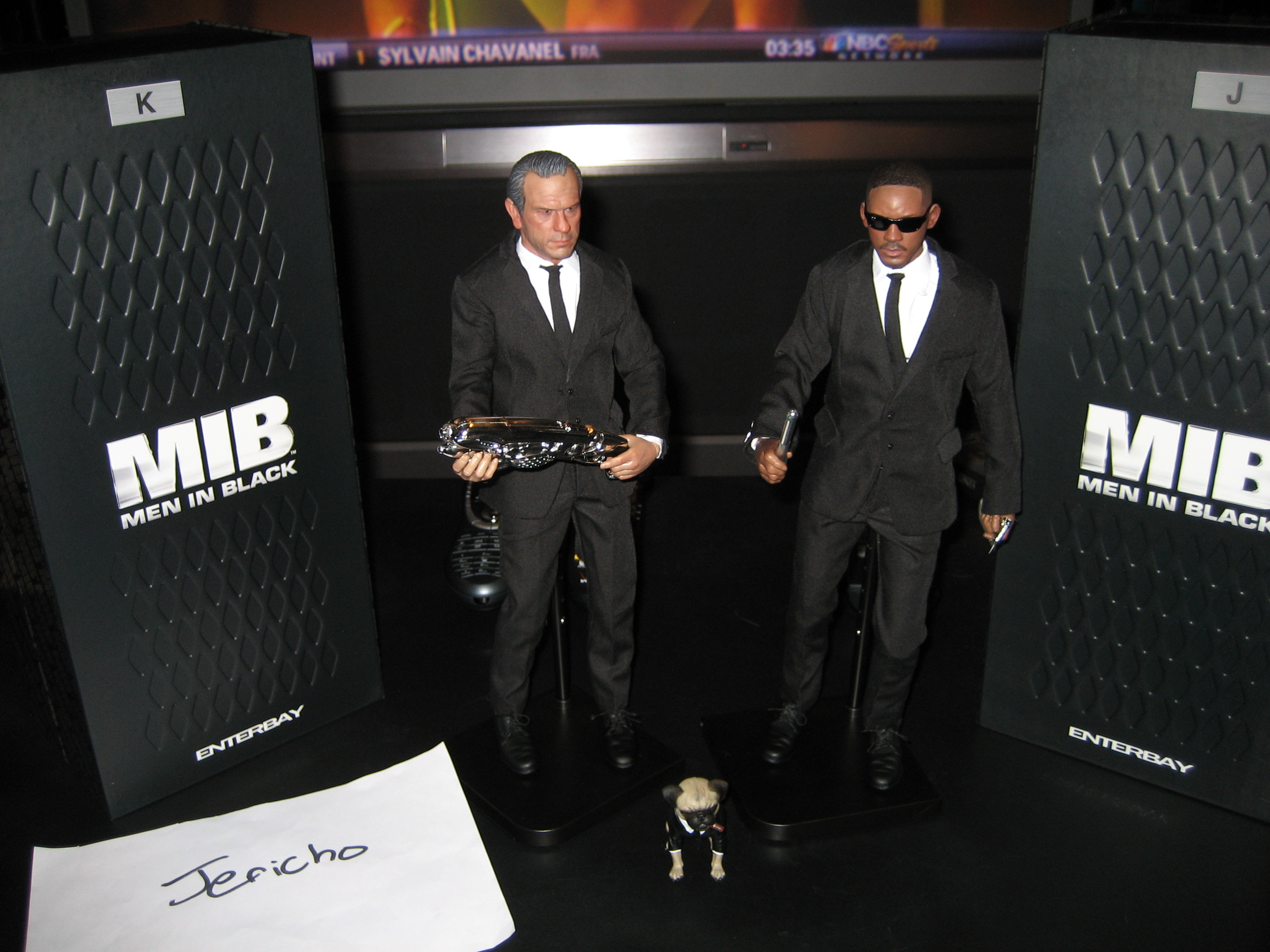 Mib Men In Black Agent J And K Enterbay Hi Def Ninja
