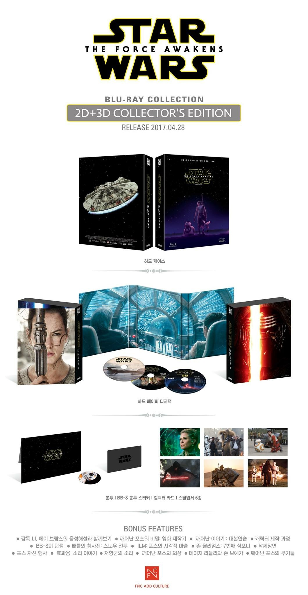 DigiPack - Star Wars: The Force Awakens: Collector's Edition (3D+2D