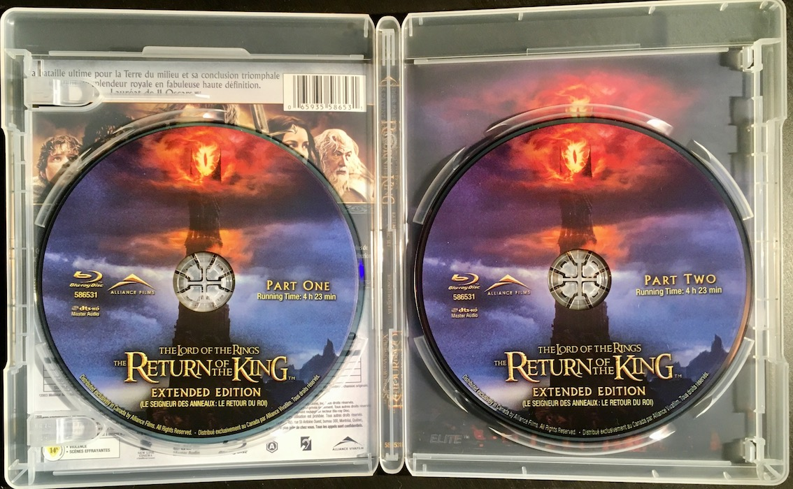 Slipcover - Lord of the Rings Extended Trilogy [Canada] | Hi