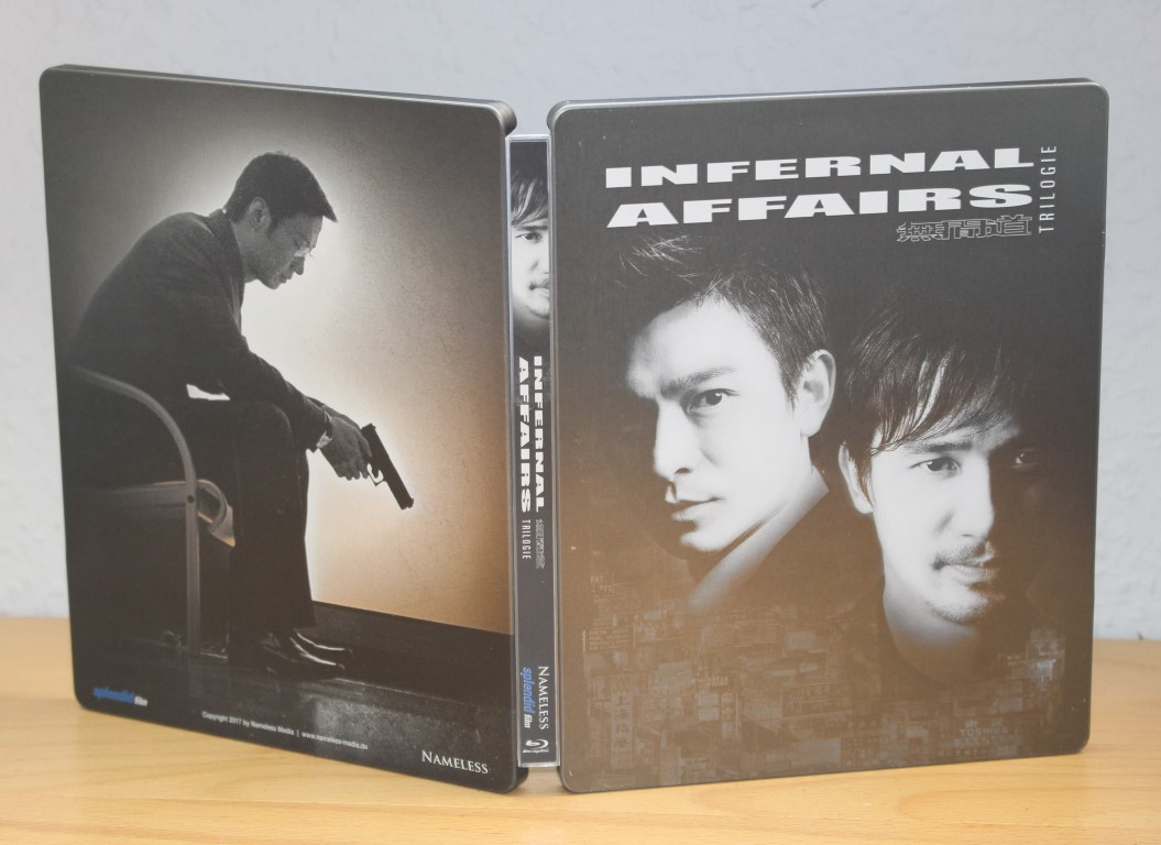Infernal Affairs Trilogy (Blu-ray SteelBook) [Germany] | Hi-Def ...