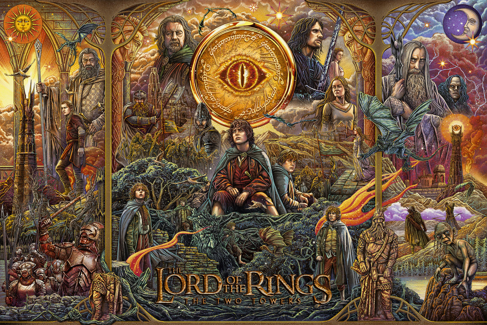 Bottleneck Gallery - Lord of the RIngs: The Two Towers by Ise