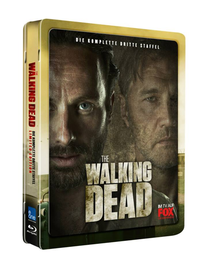 The Walking Dead: Season 3 (Lenticular)(Blu-ray Jumbo