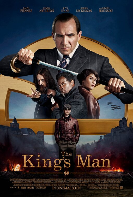 The King's Man - In theaters March 12, 2021   Hi-Def Ninja - Pop Culture -  Movie Collectible Community