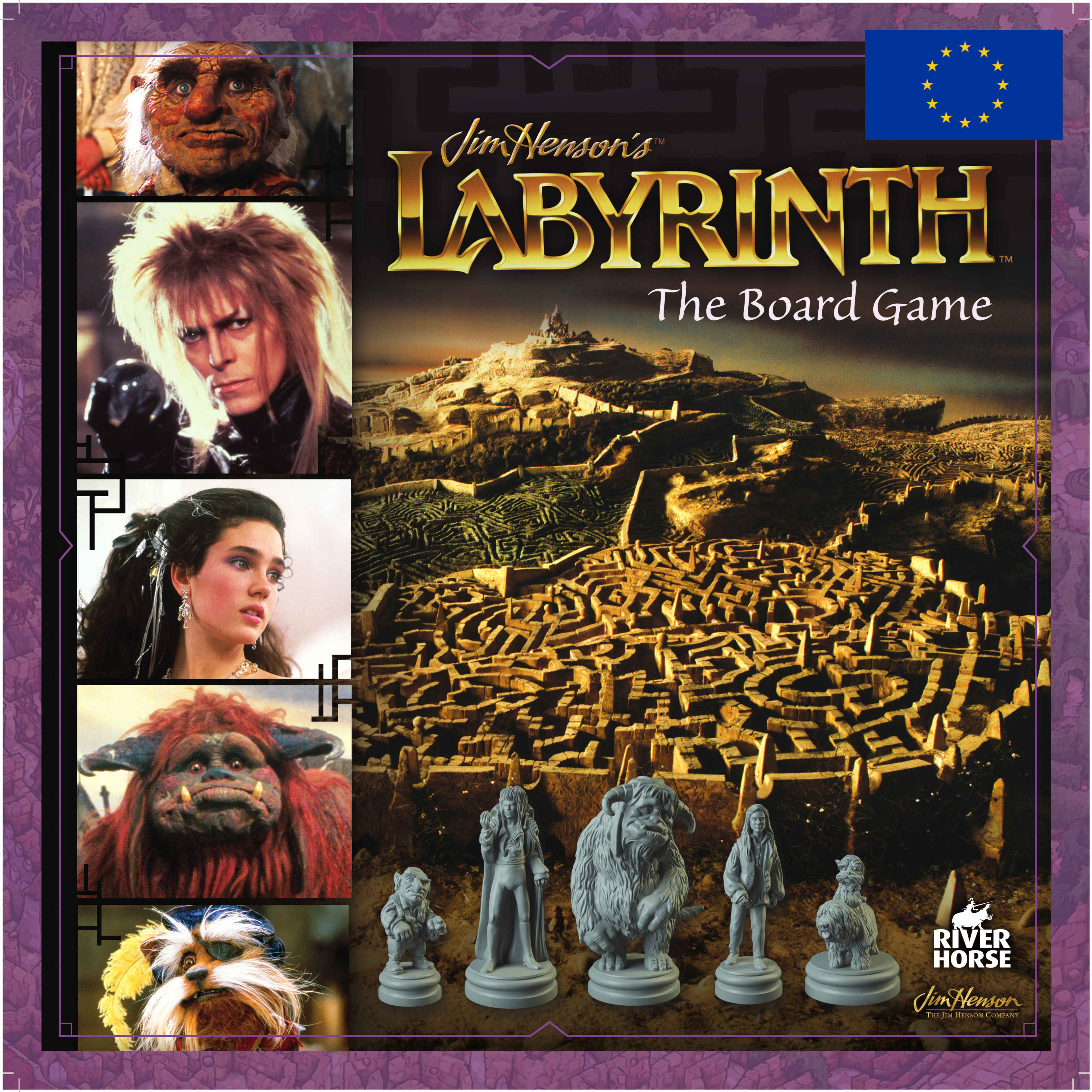 Image result for jim henson's labyrinth board game