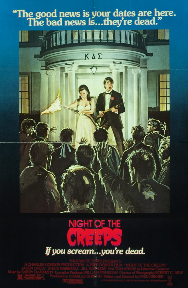 Night of the Creeps (1986, USA, Poster).png