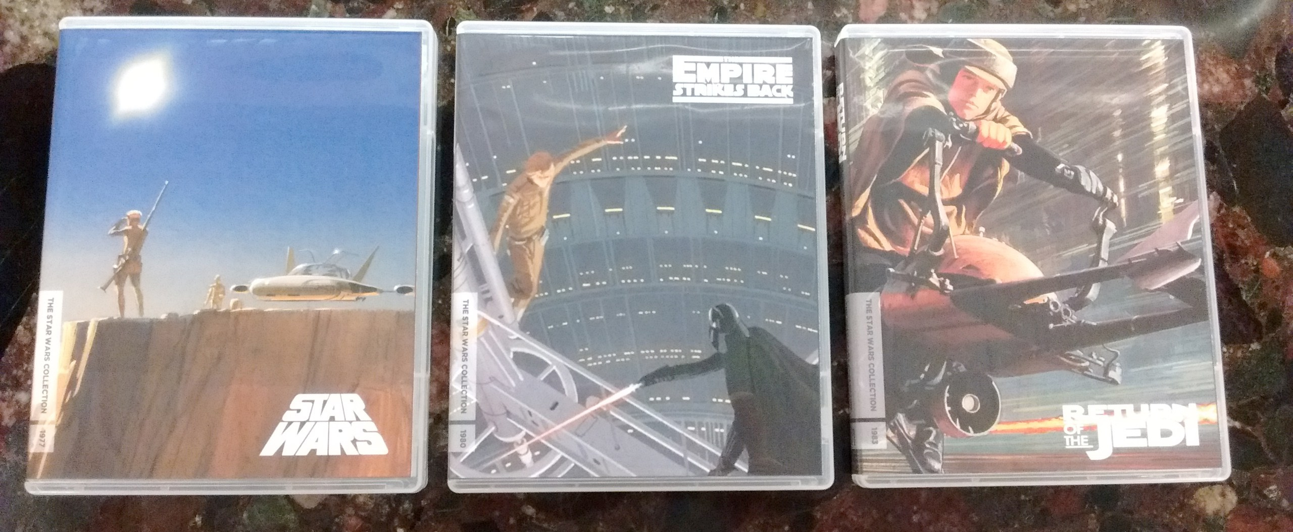 Print Your Own 'Star Wars' Trilogy Blu-ray Covers with Ralph