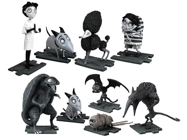 Frankenweenie Vcd S And 3 Figures By Medicom And The Bridge Direct Hi Def Ninja Pop Culture Movie Collectible Community