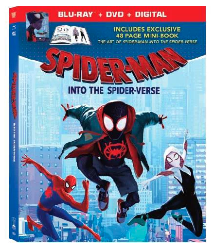 Spider-Man: Into the Spider-Verse (Blu-ray + 48-page Mini