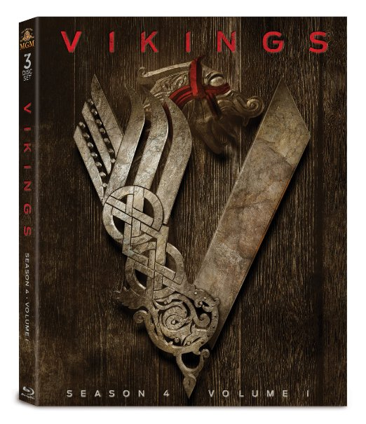 Vikings: Season 4, Volume 1 (Blu-ray Slipcover) [USA] | Hi