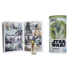 STAR WARS GALAXY OF ADVENTURES YODA Figure and Mini Comic (2).jpg