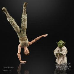 STAR WARS THE BLACK SERIES 6-INCH LUKE SKYWALKER AND YODA (JEDI TRAINING) DELUXE Figures - oop...jpg