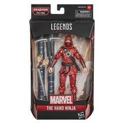 MARVEL LEGENDS SERIES SPIDER-MAN 6-INCH THE HAND NINJA Figure - in pck.jpg