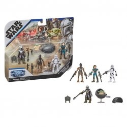 STAR WARS MISSION FLEET DEFEND THE CHILD Figure and Vehicle Pack - inpck & oop.jpg