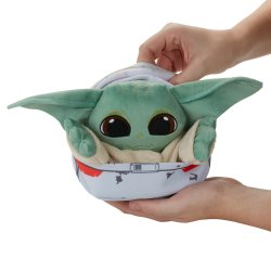 STAR WARS THE BOUNTY COLLECTION THE CHILD HIDEAWAY HOVER-PRAM PLUSH - oop (8).jpg