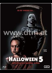 Halloween 5 Blu Ray.Halloween 5 The Revenge Of Michael Myers Blu Ray Lenticular