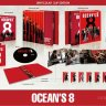 Ocean's 8 (Blu-ray SteelBook) (HDzeta Special Edition Silver Label) [China] (Lenticular)