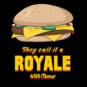 Royale With Cheese Kitchen Poster Print