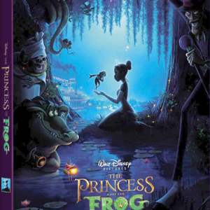 Princess and the Frog Steelbook