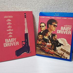 Baby Driver bluray slipcover (Japan)