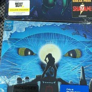 Aquaman and Pet Sematary Best Buy Steelbooks