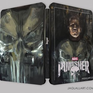 The Punisher - steelbook concept