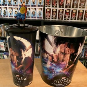 Doctor Strange Popcorn Tin and Cup with Cup Topper